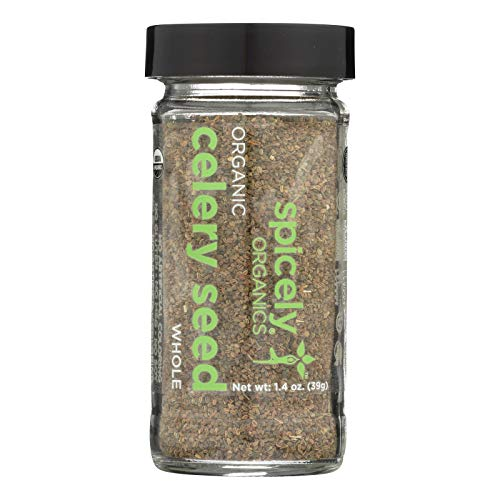 Spicely Organic Celery Seeds 1.4 Oz Certified Gluten Free