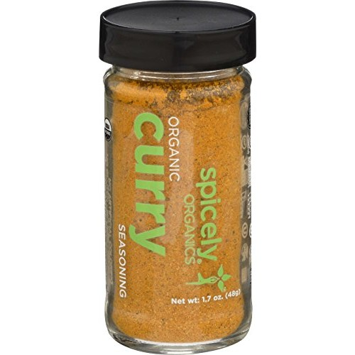 Spicely Organic Curry Powder 1.70 Ounce Jar Certified ...