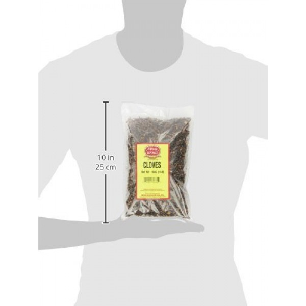 Whole Cloves Bulk 1 Pound Bag - Great for Foods, Tea, Pomander B...