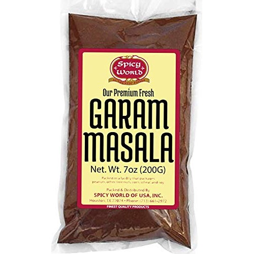 Spicy World Garam Masala 7-Ounce 15 Premium Spice Blend - Salt...