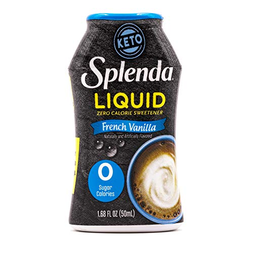 SPLENDA LIQUID French Vanilla Zero Calorie Sweetener Drops - 1.6...