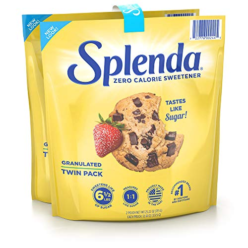 SPLENDA No Calorie Sweetener, Granulated Sugar Substitute, Resea...