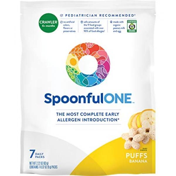 SpoonfulONE Food Allergen Introduction Puffs | Smart Feeding Sna...