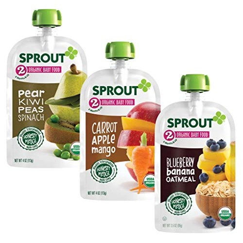 Sprout Organic Baby Food Pouches Stage 2 Sprout Organic Baby Foo...