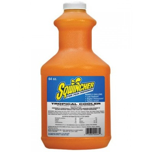 Sqwincher 030329-TC 64 Ounce Liquid Concentrate Bottle Tropical ...
