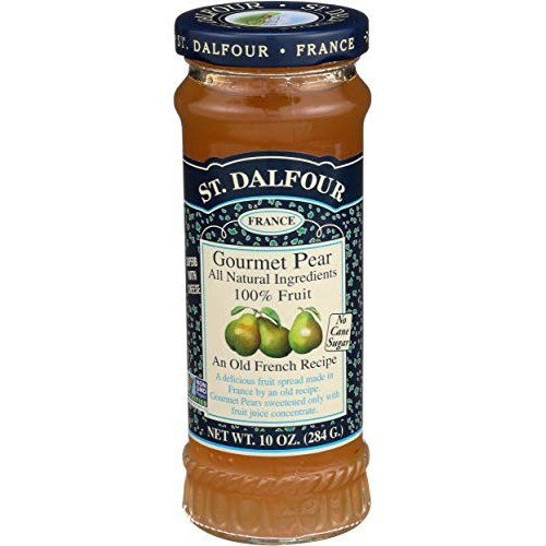 St Dalfour, Fruit Spread Gourmet Pear, 10 Ounce
