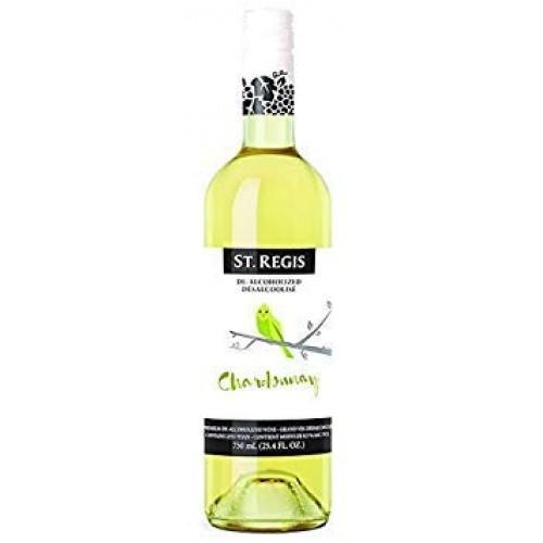 St. Regis Chardonnay Non-Alcoholic Wine (Pack of 2)