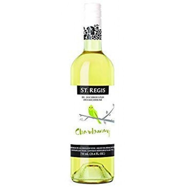 St. Regis Chardonnay Non-Alcoholic Wine Pack of 2