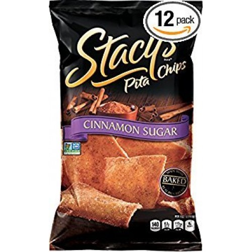 Stacys Pita Chip Pita Lg Cinnamon Sugar