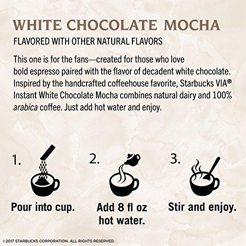 Instant White Chocolate Mocha Latte