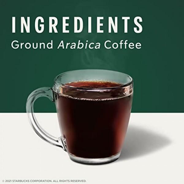 Starbucks Dark Roast Ground Coffee — Espresso Roast — 100% Arabi...