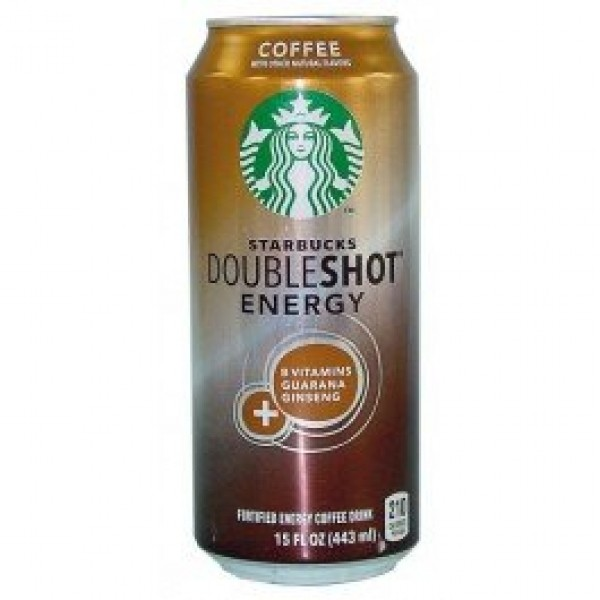 Starbucks Doubleshot Energy + Coffee Drink, Coffee flavor, 15 fl...