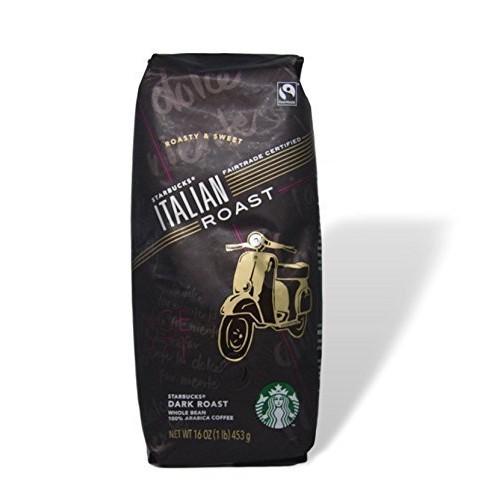 Starbucks Italian Roast Coffee Fair Trade Certified - Whole Bean...