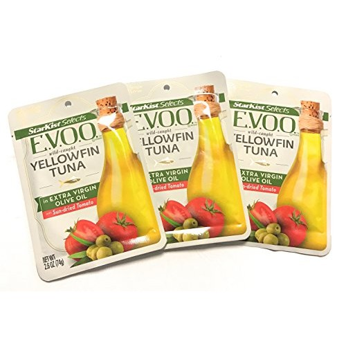 Starkist Gourmet E.V.O.O. Wild-Caught YellowFin Tuna Pack of 3