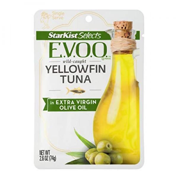 StarKist E.V.O.O. Yellowfin Tuna in Extra Virgin Olive Oil - 2.6...
