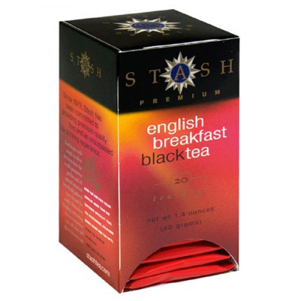 Stash English Breakfast Tea, Tea bags, 20 count