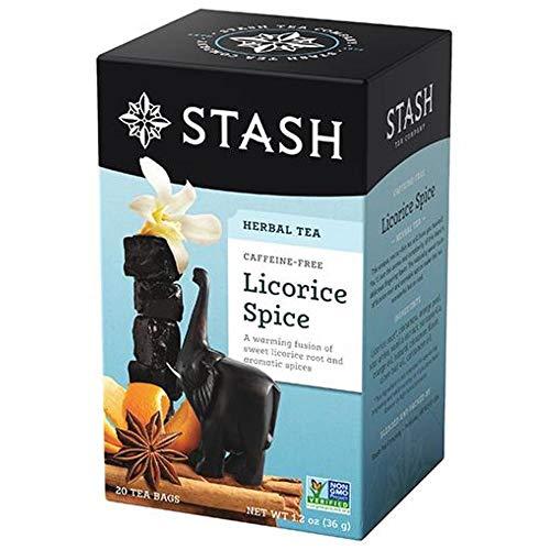 Stash Tea Spicy Licorice Tea - 20 ct Pack of 2