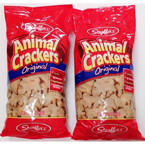 Stauffers Animal Crackers Original 11 oz bag 2 bags 22 oz total