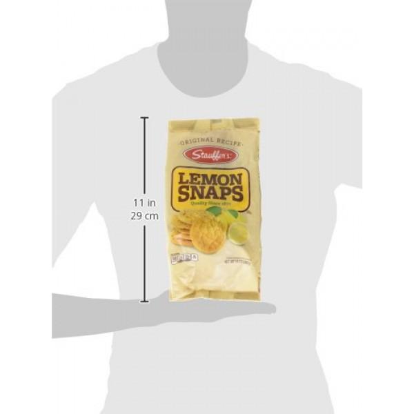 Stauffers Lemon Snaps Bag, 14-Ounce Bags Pack of 6