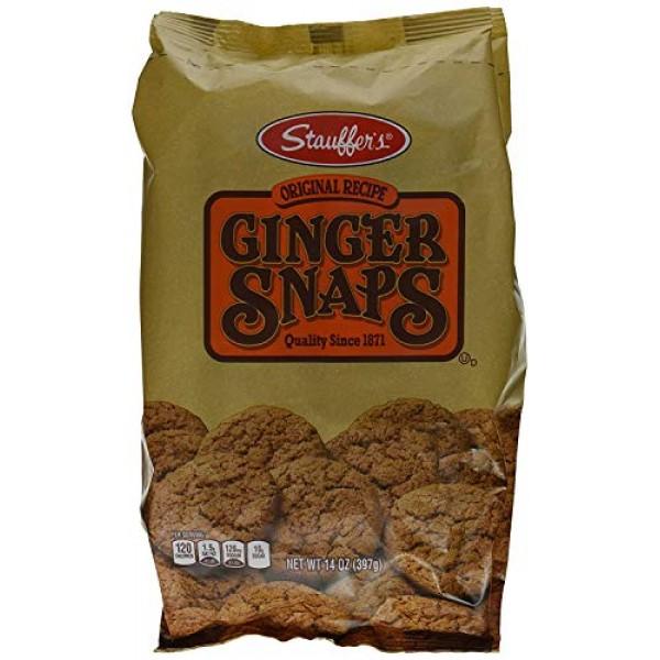 Stauffers Original Recipe Ginger Snaps 14 oz. Bag 3 Bags