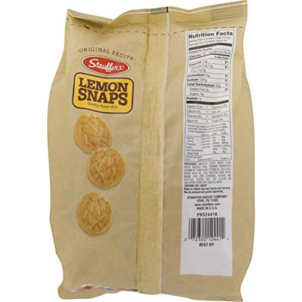Stauffers Original Recipe Lemon Snaps 14 oz. Bags 3 Bags