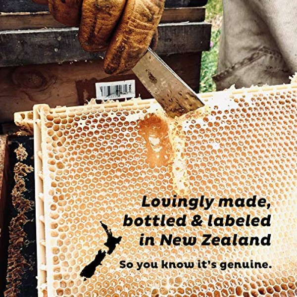 Steens UMF 15 Manuka Honey MGO 514 8.8 Ounce jar | Pure Raw Un...