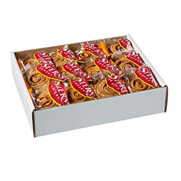 Cinnamon Buns Breakfast Pastry   24 Cookies Individually Wrapped...