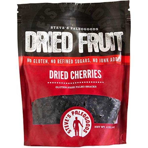 Steves PaleoGoods, Dried Fruit Cherries, 6 oz