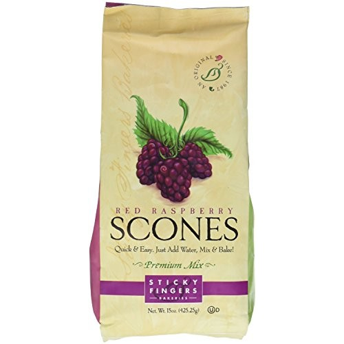 Pack of 6, 15 oz Sticky Fingers Bakeries Bulk Scone Mix: Just Ad...