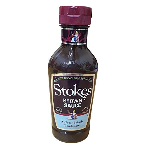 Stokes Real Brown Sauce Squeezy 505g