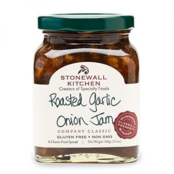 Stonewall Kitchen Roasted Garlic Onion Jam, 13 Ounces