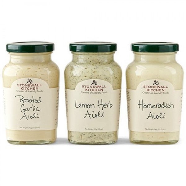 Stonewall Kitchen Aioli Collection 3 pc