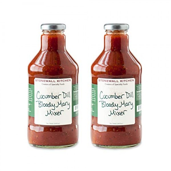 Stonewall Kitchen Cucumber Dill Bloody Mary Mixer, 24 Ounces Pa...