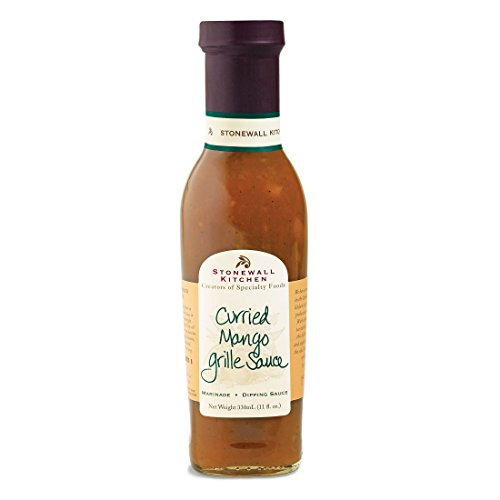Stonewall Kitchen Curried Mango Grille Sauce, 11 Ounces