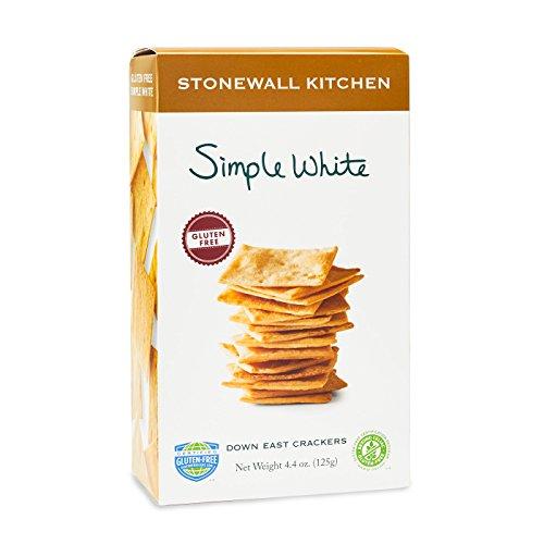 Stonewall Kitchen Gluten Free Simple White Cracker, 4.4 oz