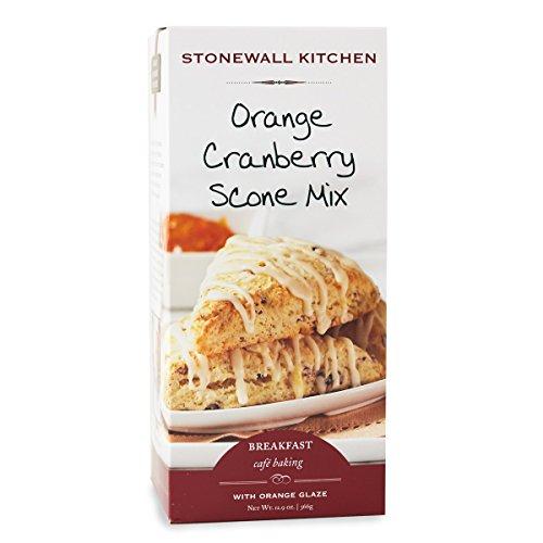 Stonewall Kitchen Orange Cranberry Scone with Orange Glaze, 12.9...