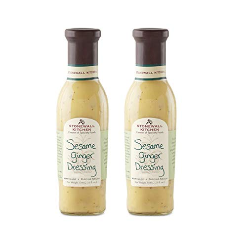 Stonewall Kitchen Sesame Ginger Dressing, 11 Ounces Pack of 2