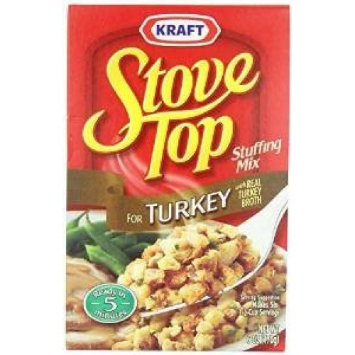 Stove Top Stuffing Mix, Turkey, 6 Ounce Pack of 2