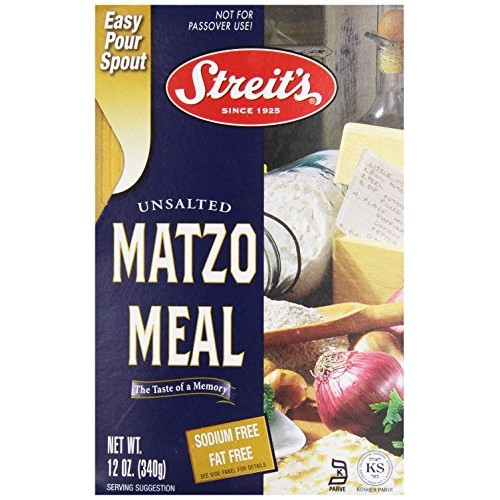 Streit's Matzo Meal, 12 oz