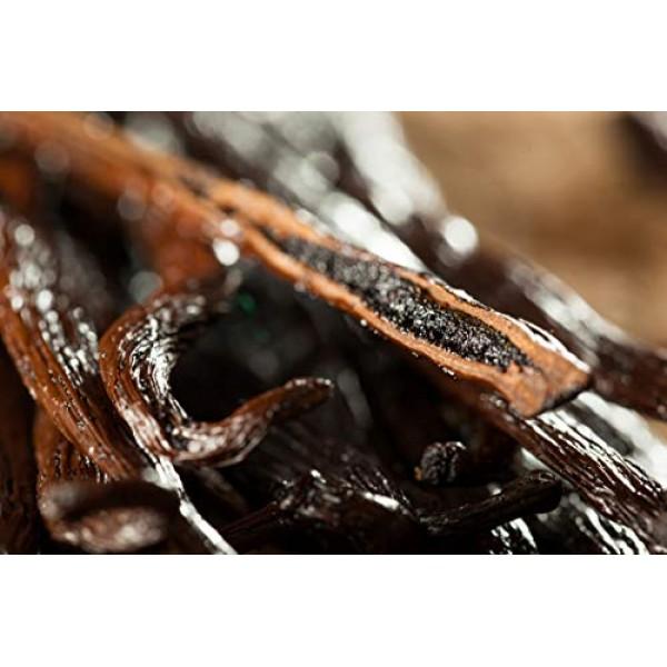 10 Madagascar Vanilla Bean - Premium Bourbon Grade A, 6-7 inches...