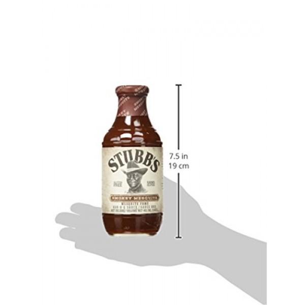 Stubbs Smokey Mesquite Bar-B-Q Sauce, 18 oz