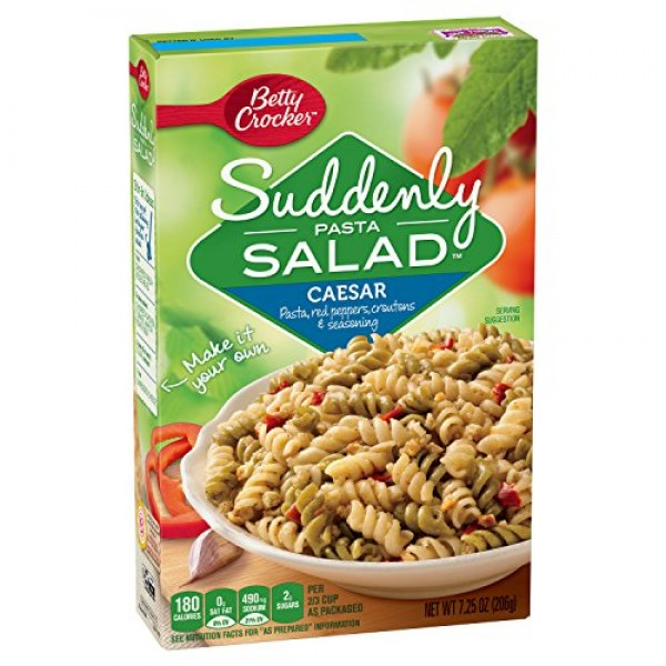 Betty Crocker Suddenly Salad Caesar Pasta Salad 7.25 oz Box pac...