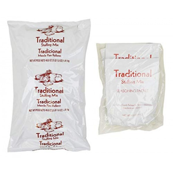 Mrs Cubbisons Traditional Seasoned Stuffings, 55 Ounce - 6 per c...