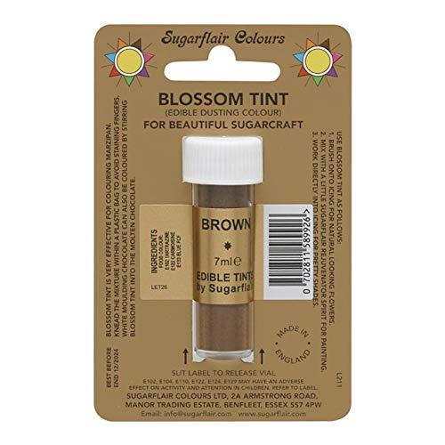 Sugarflair Blosom Tint Edible Dusting Powder - Brown