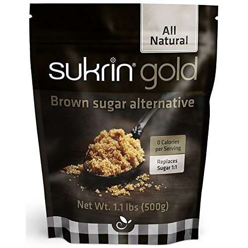 Sukrin Gold - Natural Brown Sugar Alternative - No Calorie Eryth...