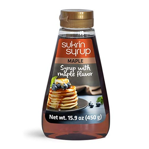 Sukrin Maple Syrup - Maple Syrup Substitute with Fiber - Low Car...