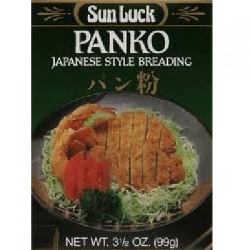 Sun Luck BG18632 Sun Luck Panko Breading Mix - 12x3.5OZ