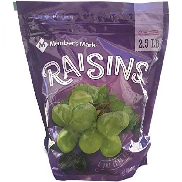 Sun-Maid California Sun-Dried Raisins - 3.75 Lbs. Split in Two B...