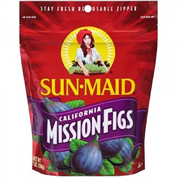 California Mission Figs Easy To Open Tear Away Packaging 7 oz