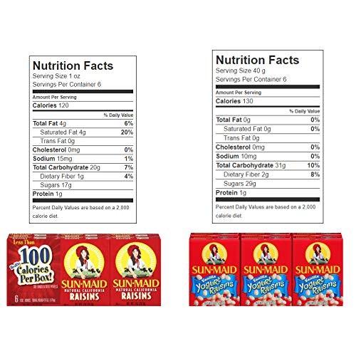 Sun Maid California Raisins Variety Snack Pack 12 Count